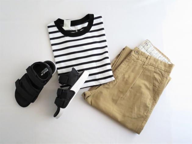 N.HOOLYWOODボーダーTシャツ.JPG