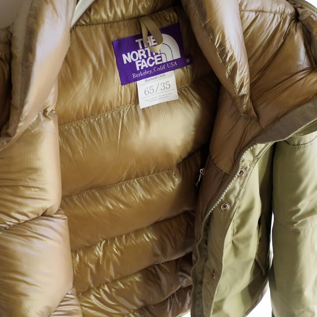 THENORTHFACE PURPLE LABEL 65 35 ダウン ジャケット.JPG