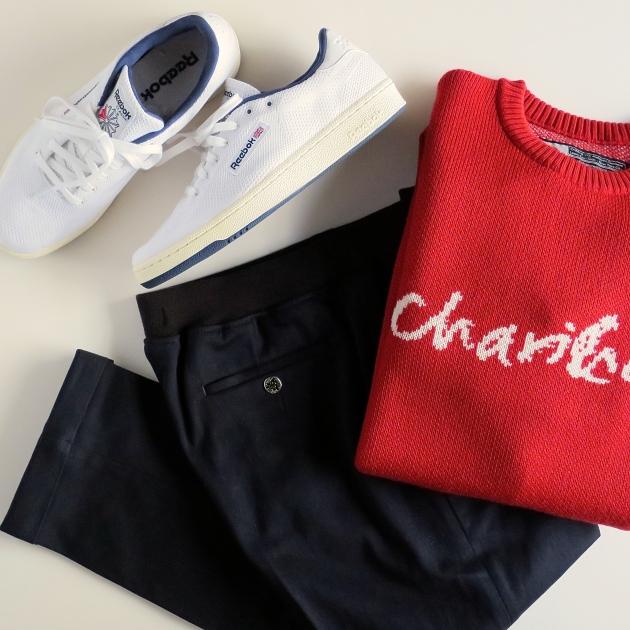 CHARI&CO チャリアンドコー ニット コーディネート.jpg