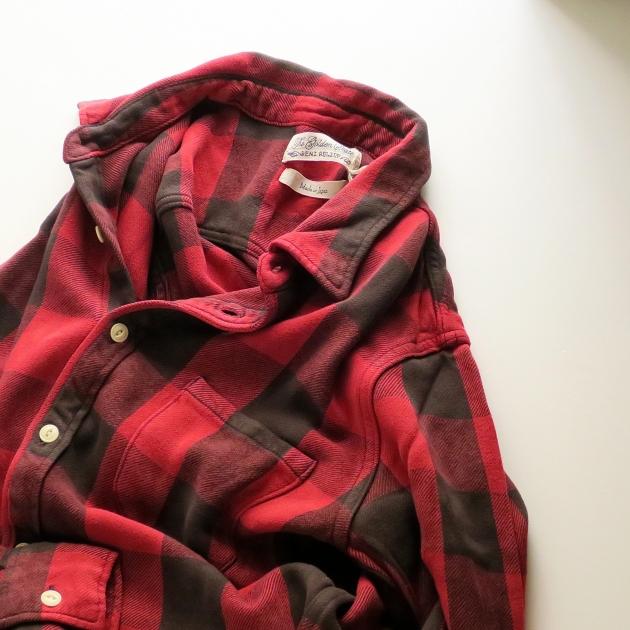 REMI RELIEF レミレリーフ チェックシャツ.JPG