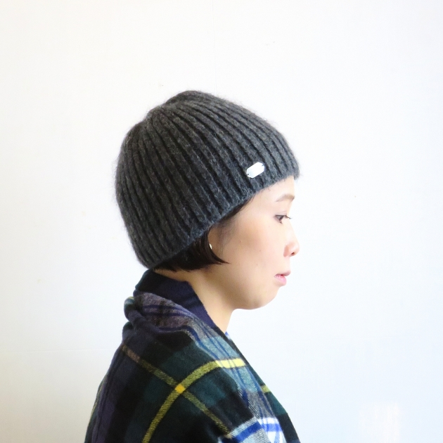 CA4LA カシラ 帽子 ニット モへア.JPG