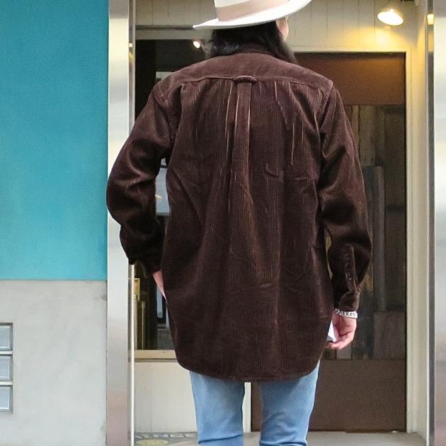HOLLYWOOD RANCHMARKET コーデュロイ シャツ.JPG