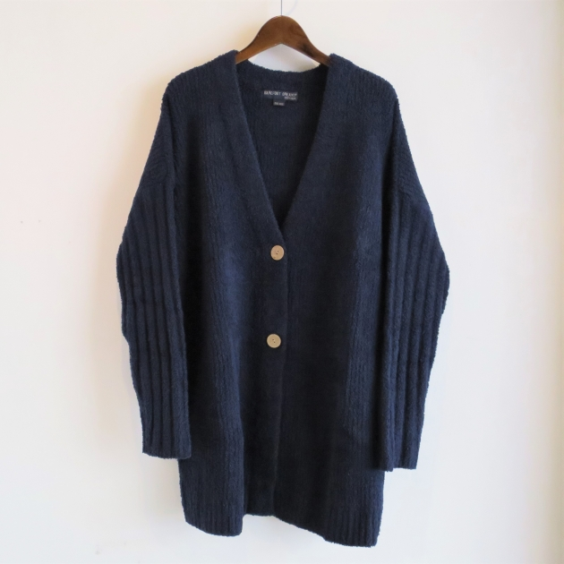 BAREFOOT DREAMS Womens over sized Cardigan.JPG