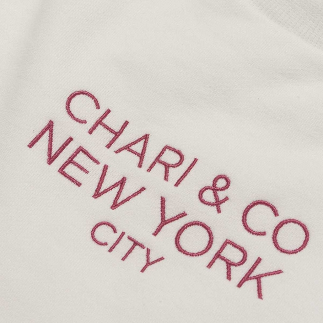 CHARI&CO スウェットトレーナー レッド.jpg