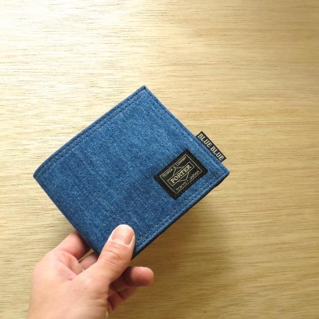 PORTER BLUEBLUE 財布.jpg