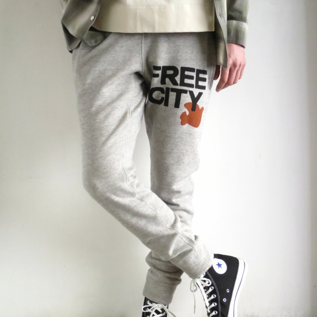 フリーシティ FREECITY スウェットパンツ.JPG