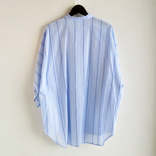 FLORENT ストライプバンドカラーシャツ(2).jpg