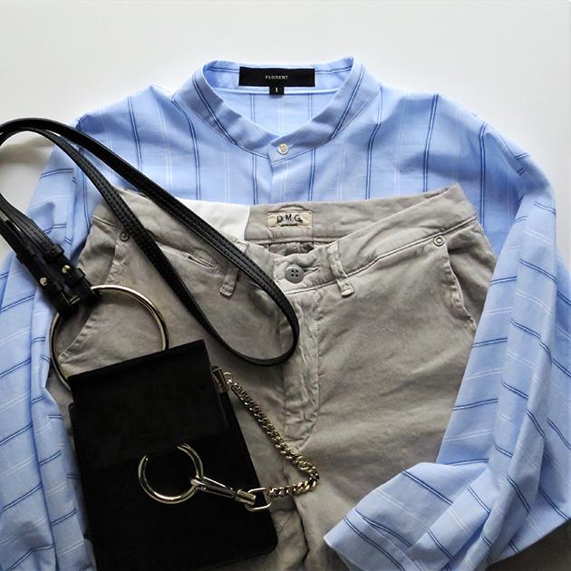 FLORENT ストライプバンドカラーシャツ(5).jpg