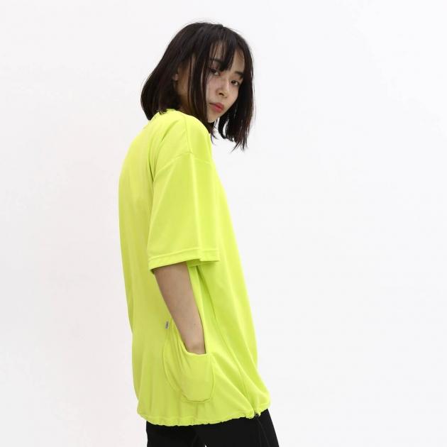 チャリアンドコー  DRAWSTRING PKT TEE Tシャツ.jpg