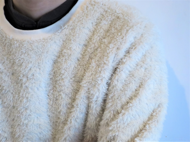 HOLLYWOOD RANCH MARKET ボアフリース クルーネックシャツ(2).jpg
