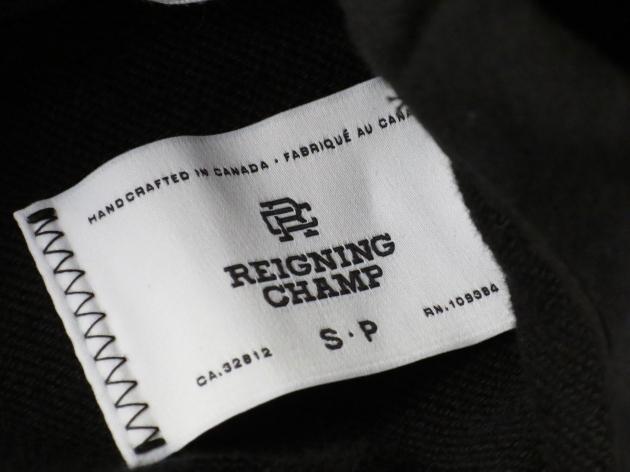 REIGNING CHAMP レイニングチャンプ スウェット ガウン 6.jpg