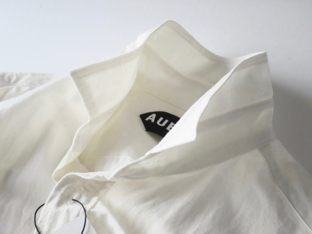 AUBERGE オーベルジュ Serge Linen Shirts 1.jpg