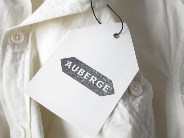 AUBERGE オーベルジュ Serge Linen Shirts 4.jpg