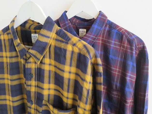 DMG チェックシャツ.jpg