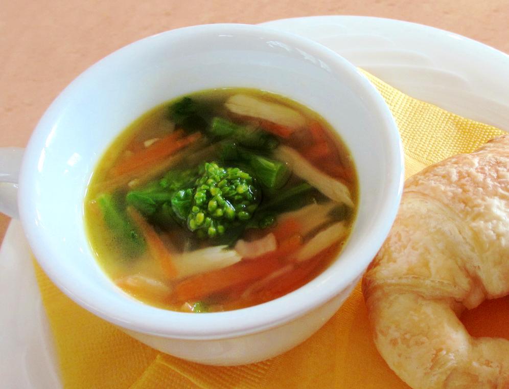 菜の花のスープ