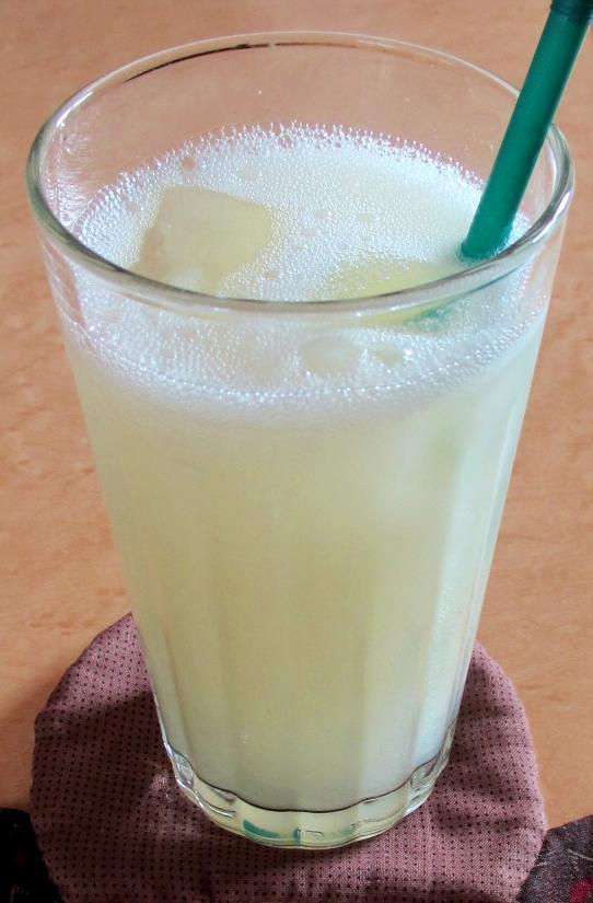 梨とレンコンのジュース