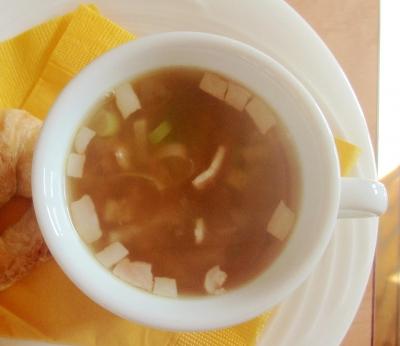 すりおろし生姜スープ
