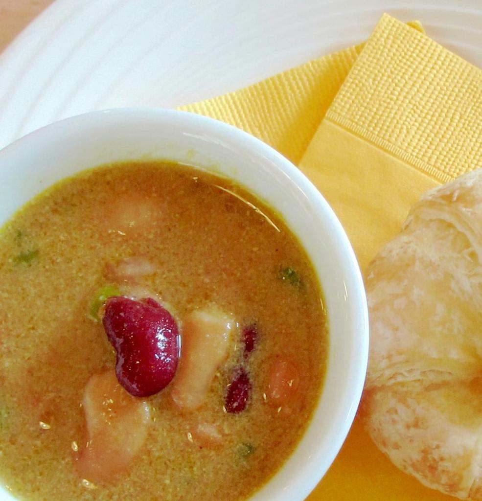 ミックス豆のカレースープ