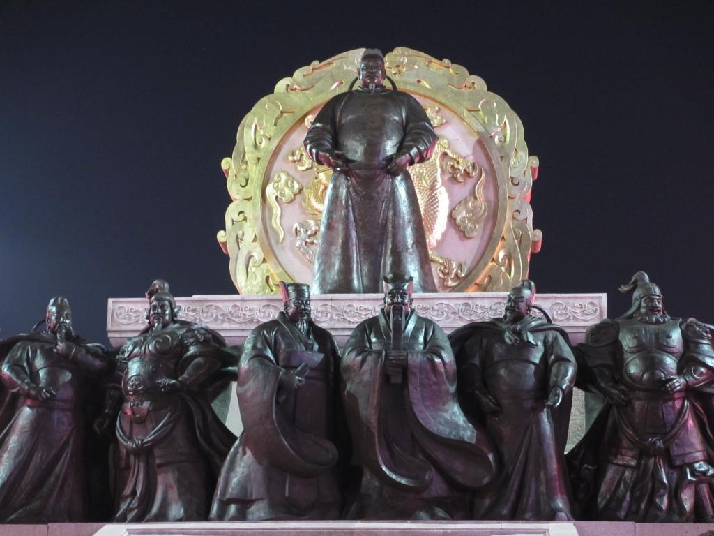 玄宗皇帝像