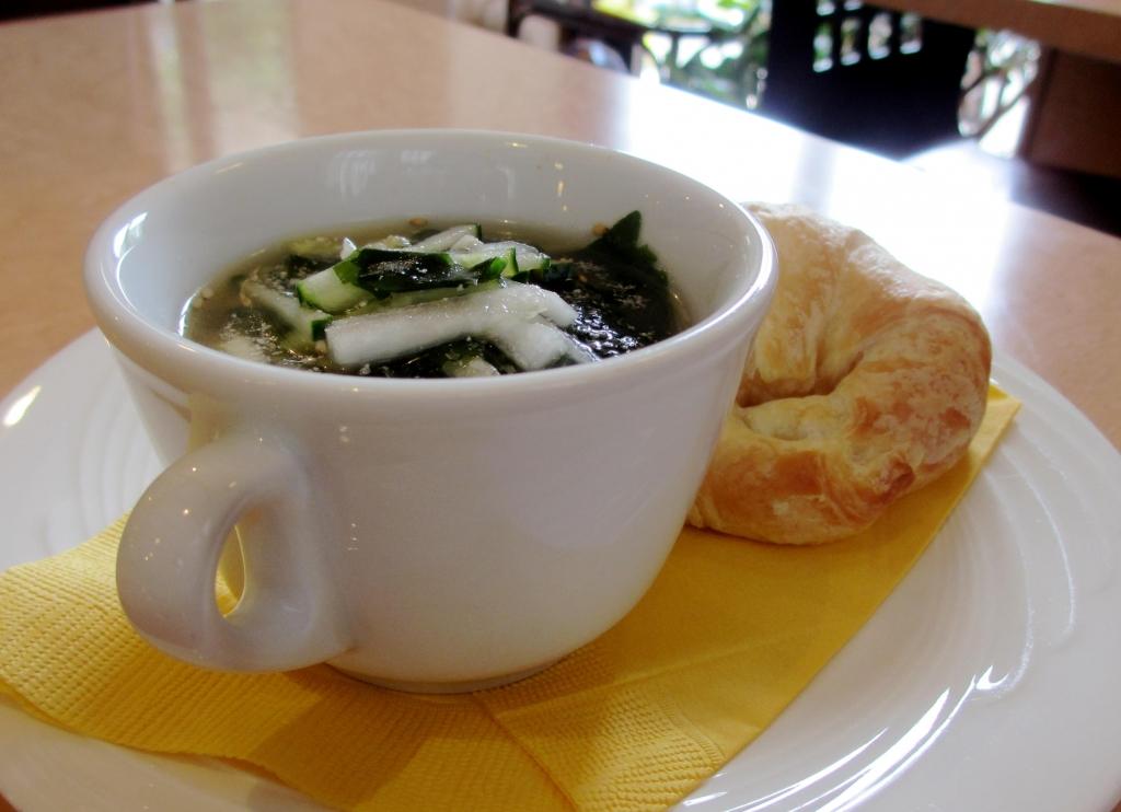 ワカメの冷スープ