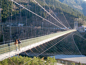 十津川 「谷瀬のつり橋」