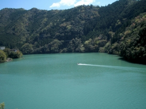 十津川村ダム湖風景