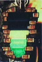 ポイントは液晶左側に表示