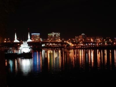 ポートランドの夜景