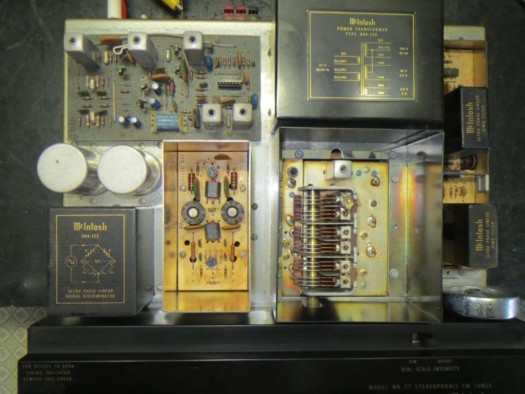 滋賀オーディオサービス 公式ブログMcIntosh MR771970製 FMチューナー故障修理