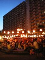 近所のお祭り