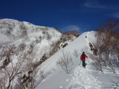 五地蔵山スノーシュー