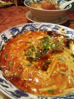 スーラー麺とトマトラーメン