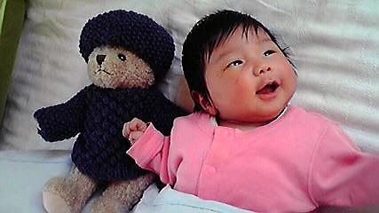 テディと姪っ子