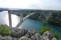 クルカ国立公園の橋