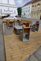 ナイーブアート美術館のカフェ