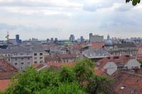 カタリーナ広場の見張り台からの眺め