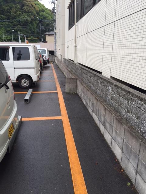 矢野駅前パーク草抜後.JPG