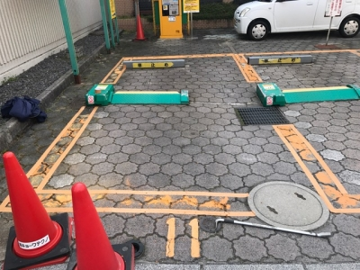 No.11〜14 駐車枠ライン引き直し前.JPG