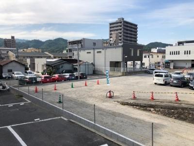 ライフメント中広2丁目ロープ張り工事2.JPG