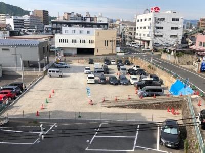 ライフメント中広2丁目ロープ張り工事3.JPG