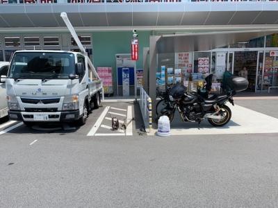 ウォンツ舟入カメラポール設置工事前.jpg