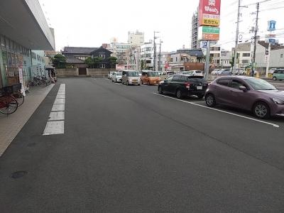 車路駐車防止のため矢印ライン工事3.jpg