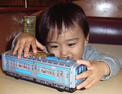 ブリキの電車