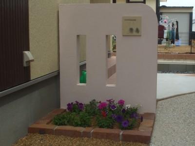 門柱(塗り物・切り抜き)