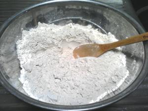小麦粉+はとむぎのぬか+ベーキングパウダー