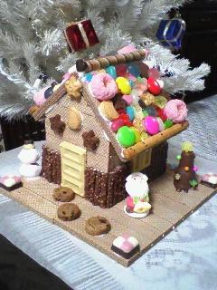 月城作・お菓子の家!