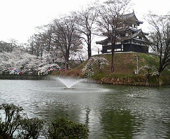 tkd城と噴水