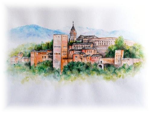 グラナダ・アルハンブラ宮殿(スペイン)