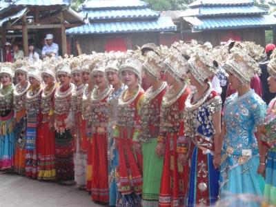 部族の装い