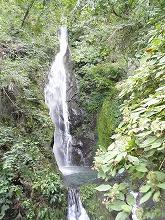 自然がつくりだした大滝
